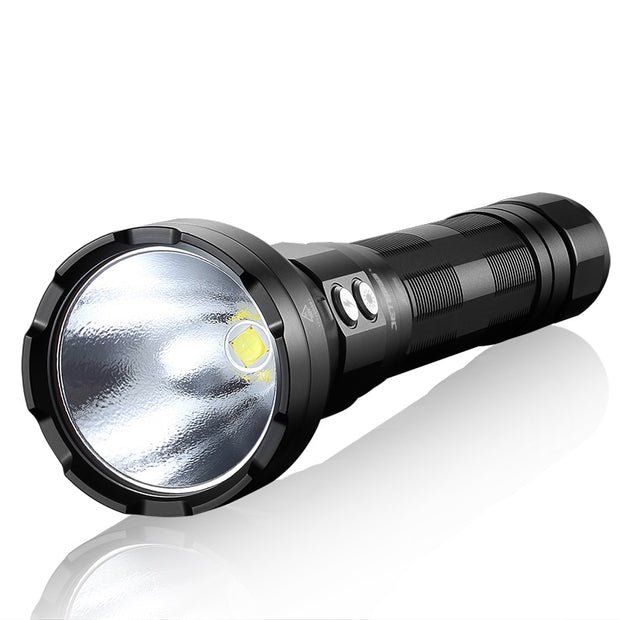 Waterproof 3650Lumens Rechargeable Flashlight