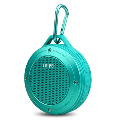 Mini Outdoor Wireless Bluetooth Portable Speaker w/ Built-in mic-Shock Resistance IPX6 Waterproof Rating