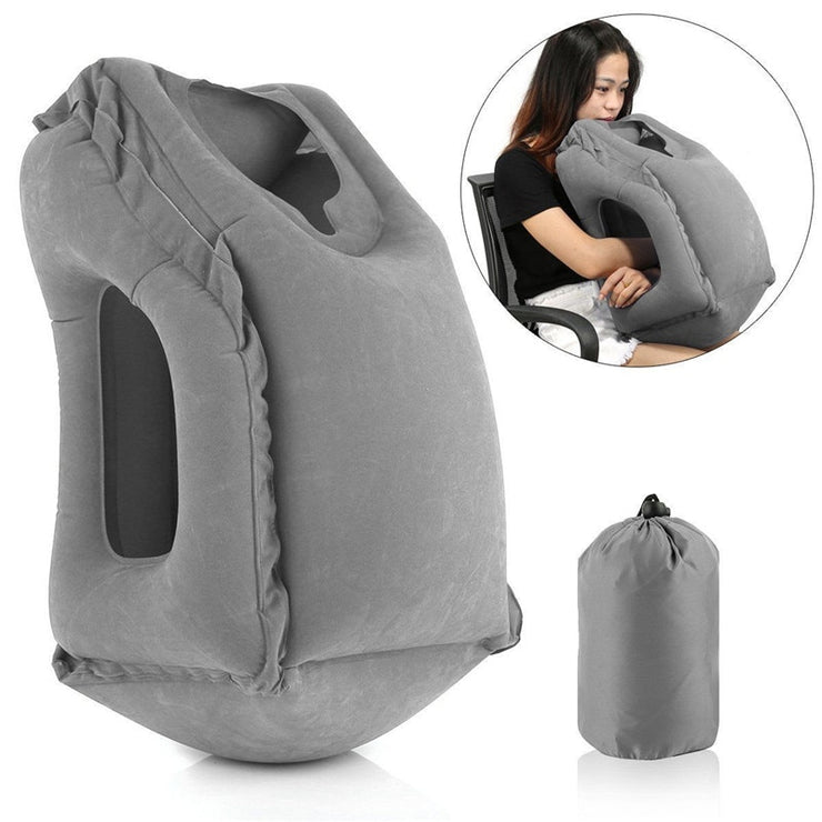Inflatable Sleeping Neck Pillow For Travel