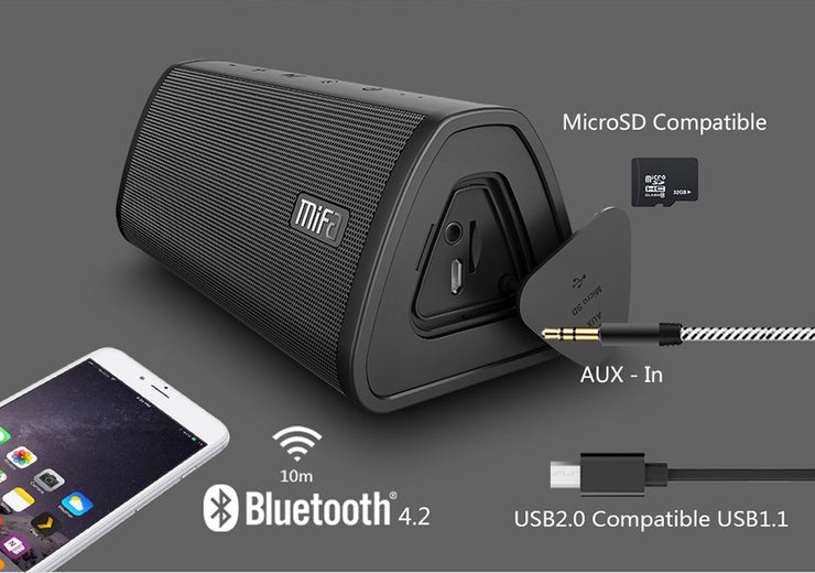 Water Resistant Portable Bluetooth speaker Portable Wireless