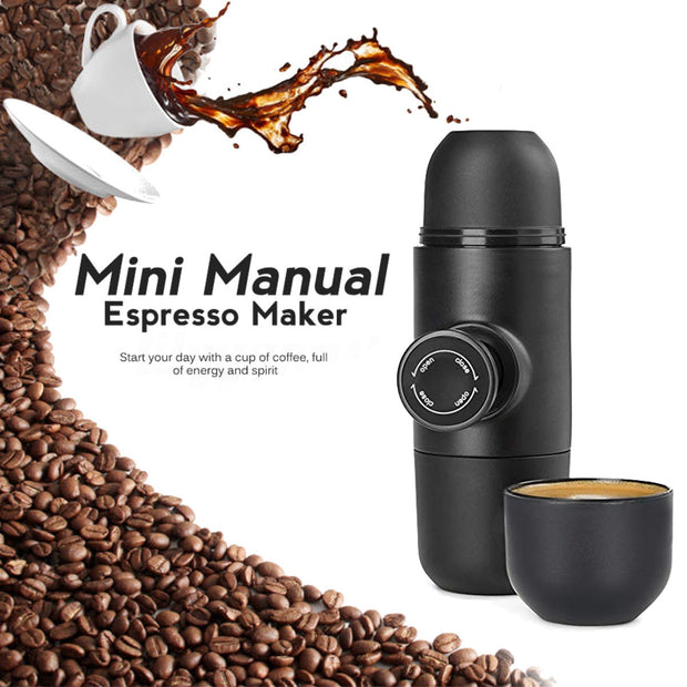 Mini Espresso Maker-Perfect For That On The Road Coffee Junkie - The Modern Travelers Store