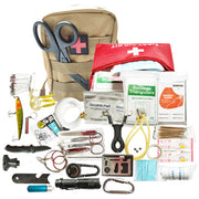21 Piece Survival Kit with First Aid - The Modern Travelers Store
