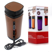 Electric Heated Coffee Thermos (USB)