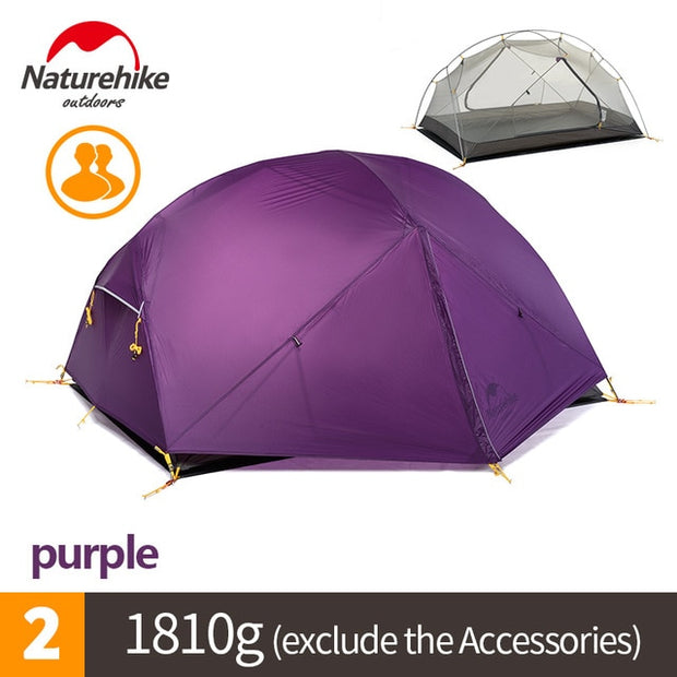 Nylon 2 Person Camping Tent - The Modern Travelers Store