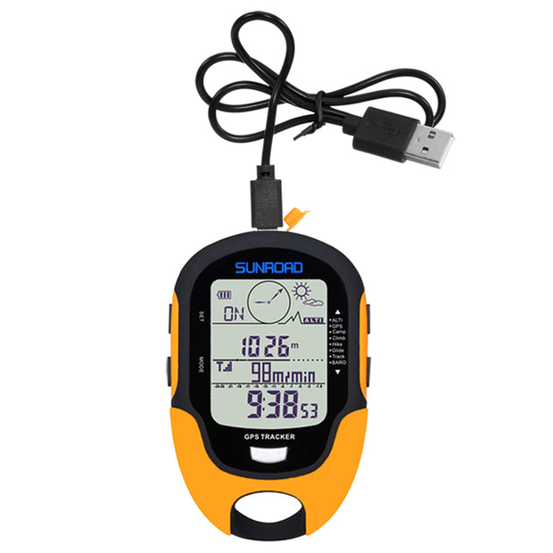 Digital GPS-Altimeter, Barometer & Compass