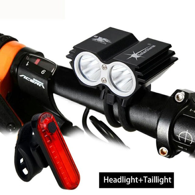 Waterproof T6 LED Bicycle Light w/ 4 Modes