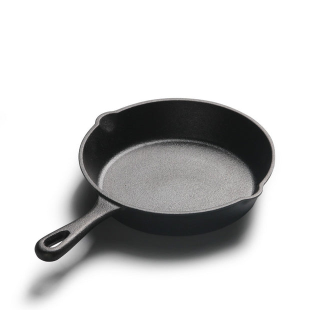Durable Cast Iron Pans - Perfect for Cooking Over a Fire