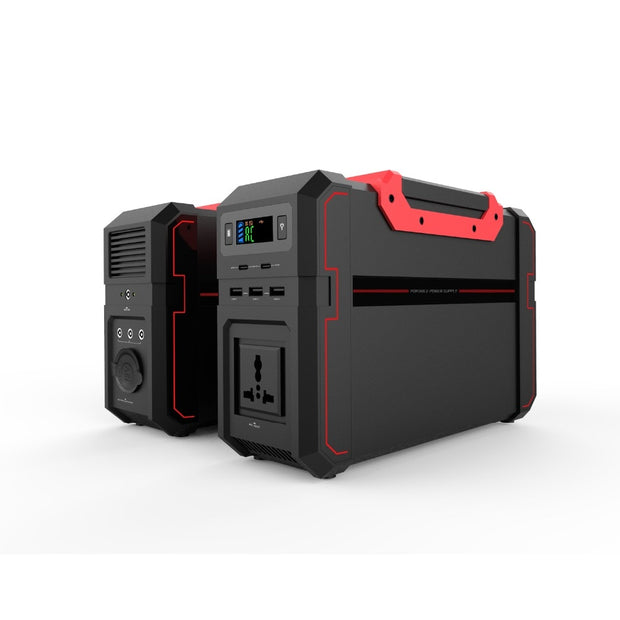 120000mAh Portable Power Inverter w/ Solar Inputs