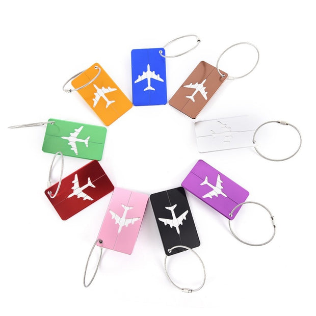 Aluminum Suitcase Tags