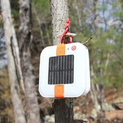 Solar Powered Collapsible Flashlight