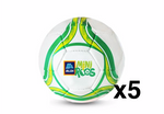 Footballs - Size 3 <br>(Pack of 5)