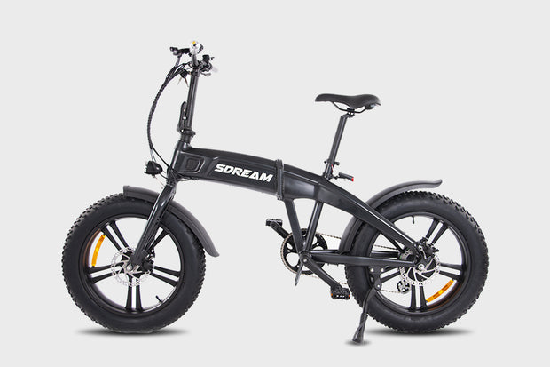 "SDREAM X750 | 750W All-terrain Folding eBike | 4""*20"" Fat Tire, 20mph, 7-speed Gears"