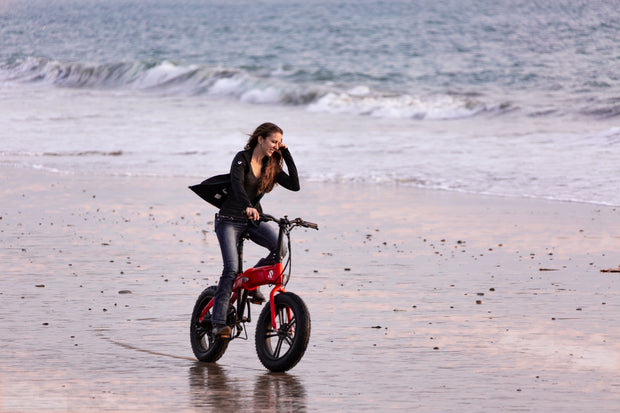 "SDREAM X750S | 750W All-terrain Folding eBike | Full Suspension, 20"" Fat Tire, 20mph, 7-speed Gears"