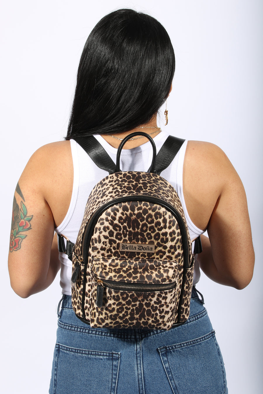 Leopard Mini Backpack