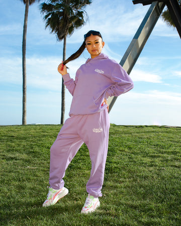 Bella Doña Classics Sweats - Purple