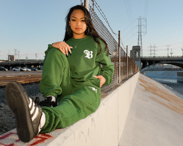 B Love Sweats - Green