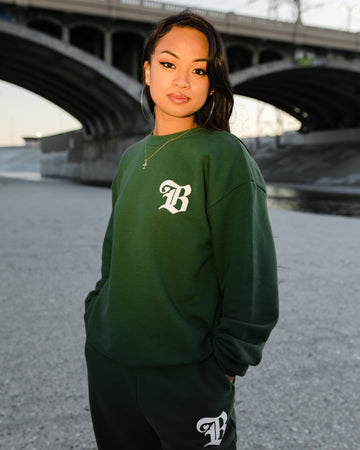 B Love Sweater - Green