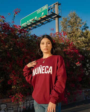 Muñeca Sweater - Burgundy