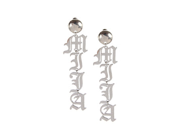 Palabra Earrings: Mija - Silver