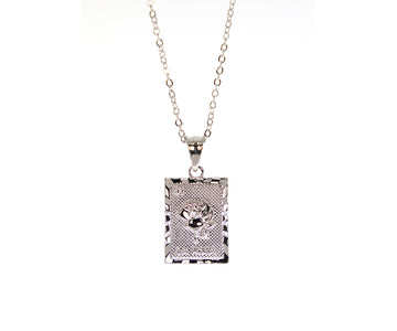 La Rosa Necklace - Silver