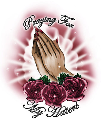 Praying For My Haters Poster