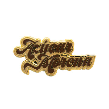 Brown Sugar Enamel Pin