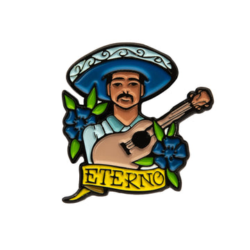 Eterno Blue Enamel Pin