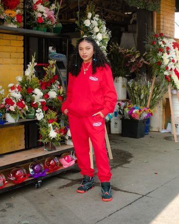 Bella Doña Classics Sweats - Red