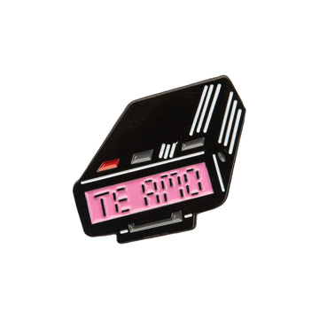 Pager Enamel Pin