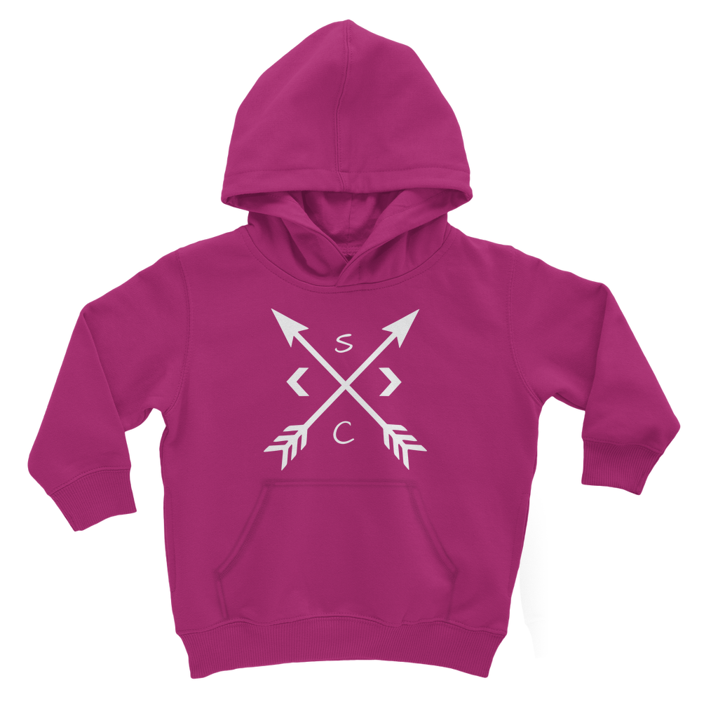 Youth White Compass Hoodie - Stay Coastal