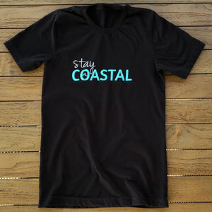 Women's Wave Logo Tee - Stay Coastal