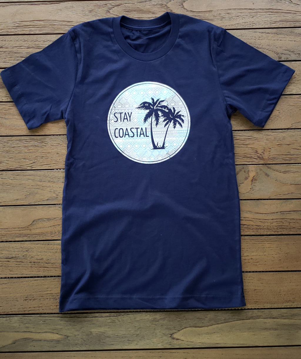 Women's Aztec Palms Tee - Stay Coastal