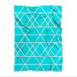 Diamond Fleece Blanket - Stay Coastal