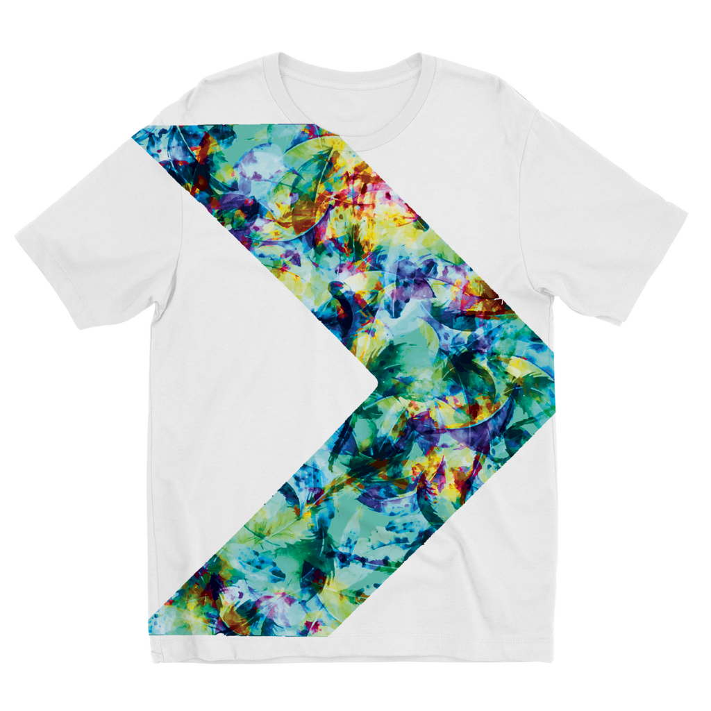 Youth Floral Arrow Tee