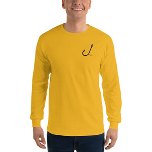Men's HOOKED Long Sleeve T-Shirt