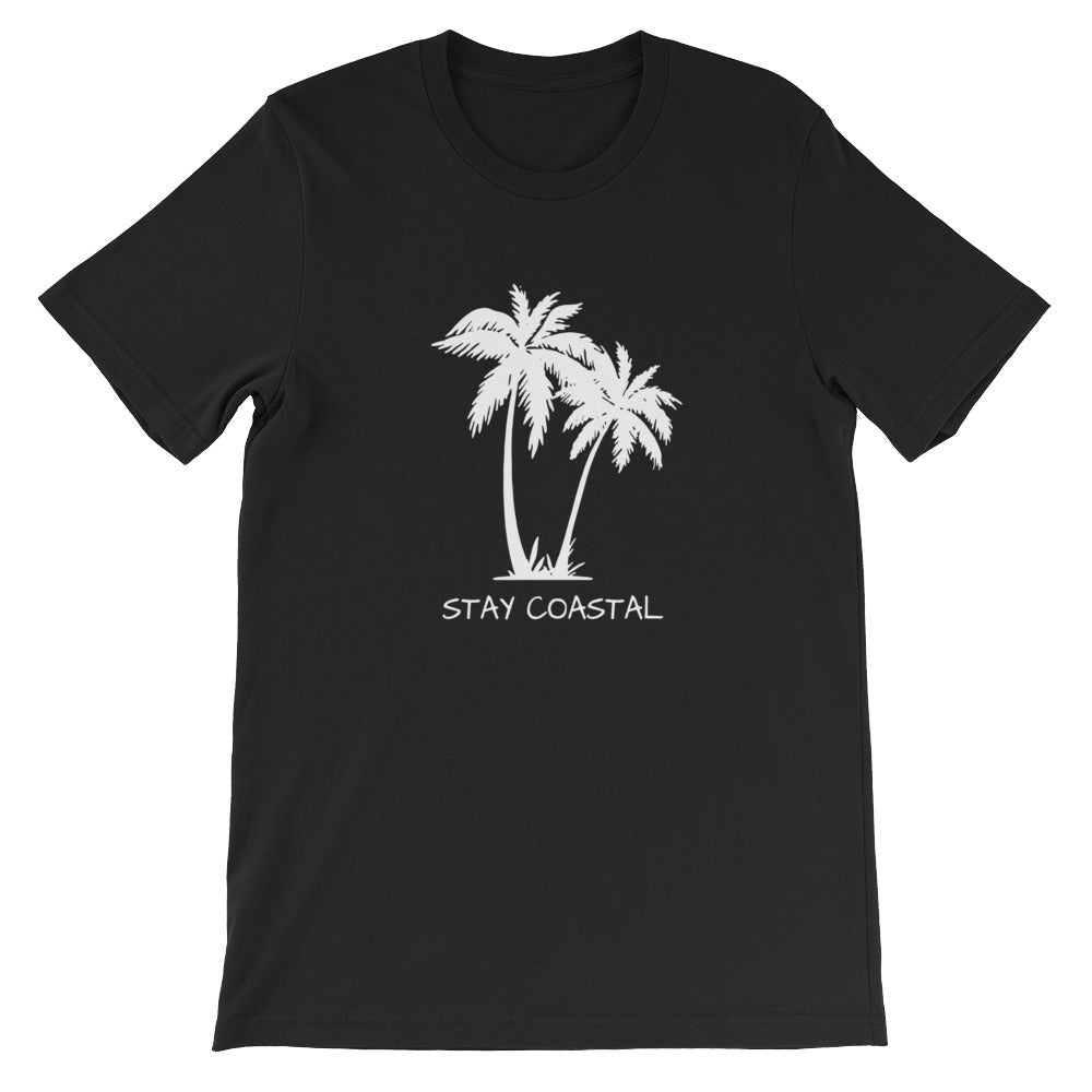 Women's White Palms Tee - Stay Coastal