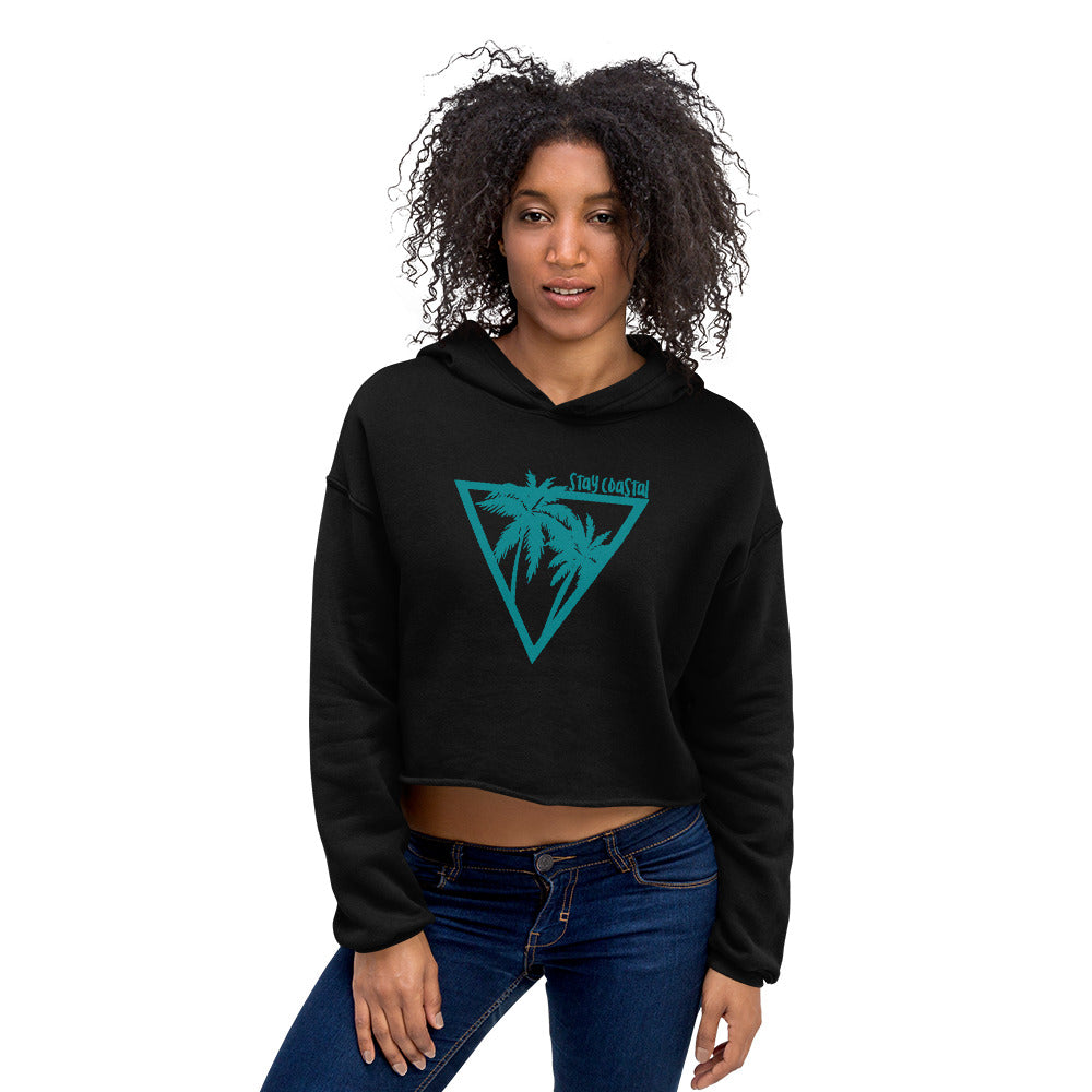 Women's Tropics Crop Hoodie - Stay Coastal