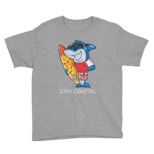 Youth Surfin' Shark Tee