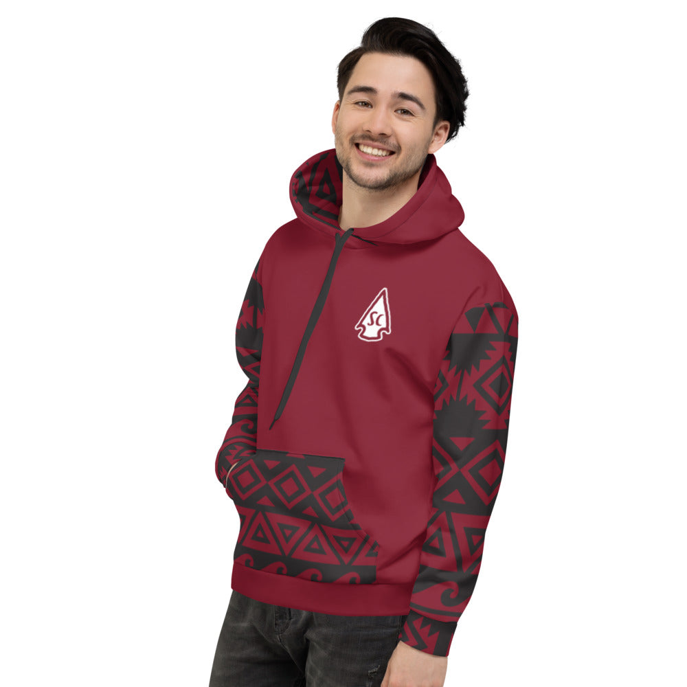 Men's Tribal Hoodie - Stay Coastal