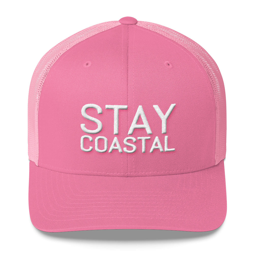 Stay Coastal Trucker Hat - Stay Coastal