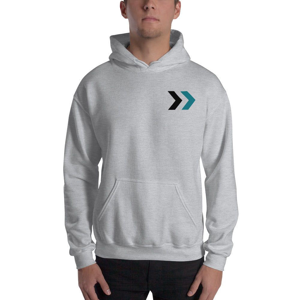Men's Teal Arrows Hoodie