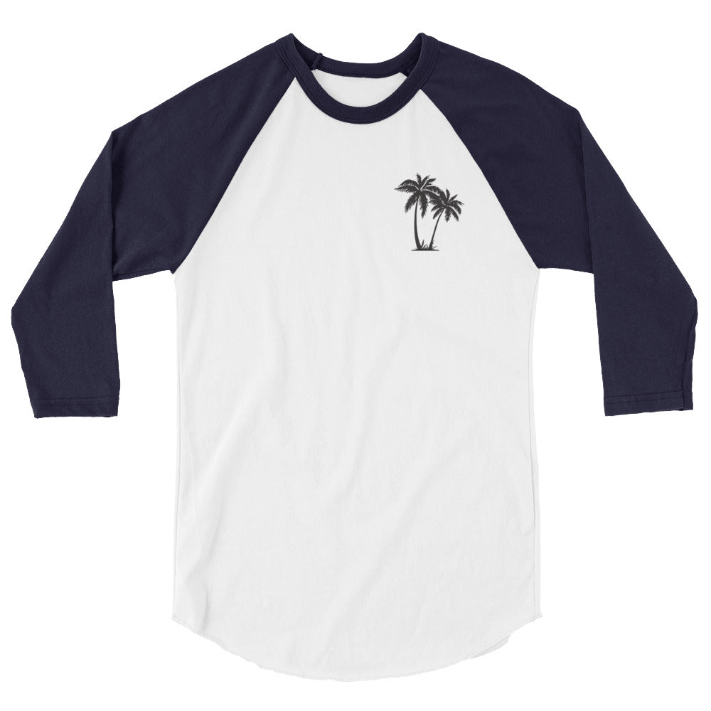 Women's Palms 3/4 Sleeve Raglan Shirt
