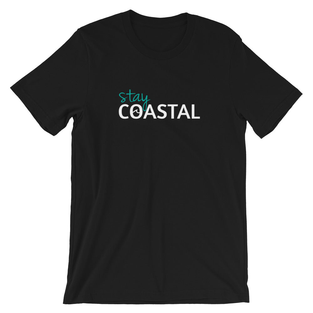 Men's Wave Logo Tee - Stay Coastal