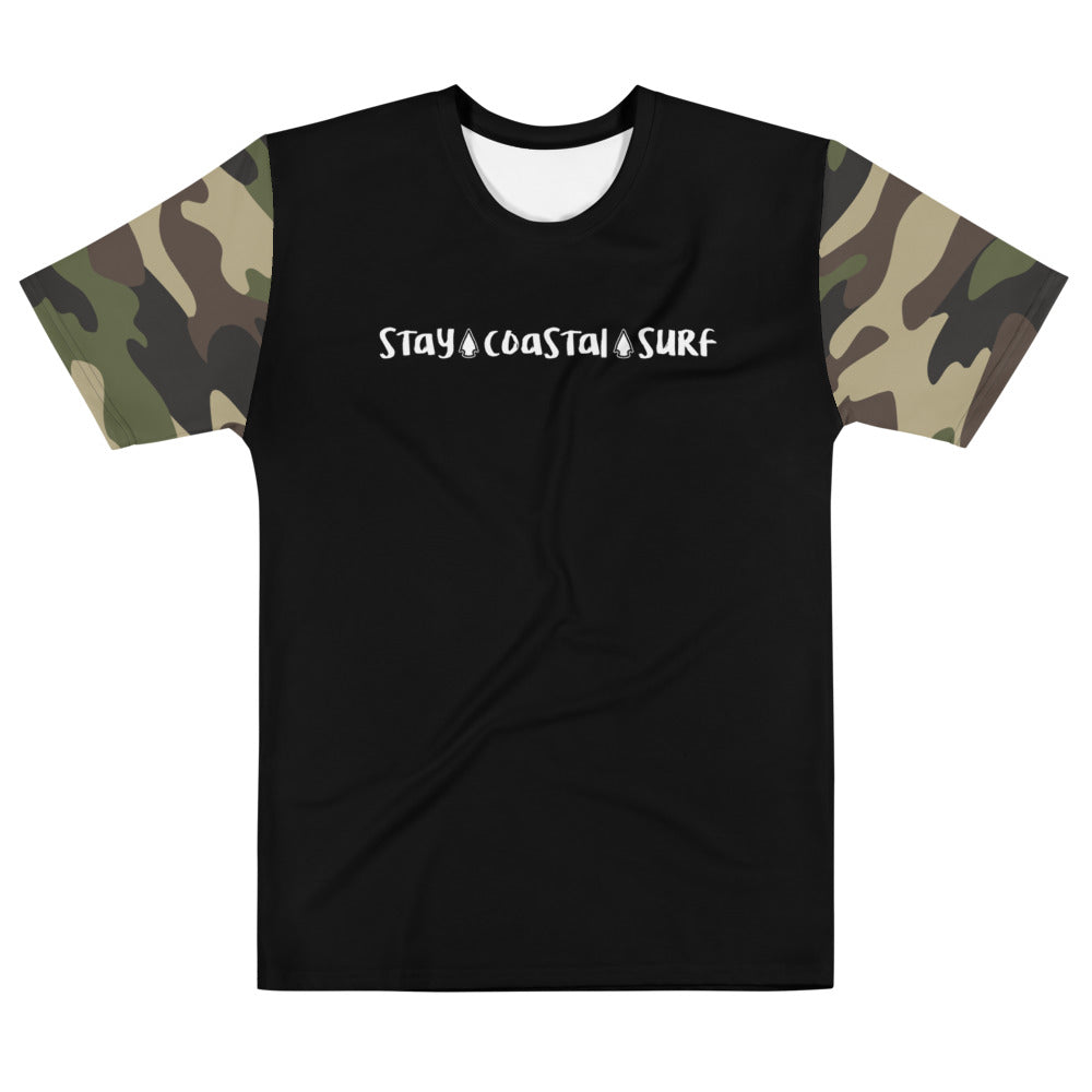 Men's Camo T-shirt - Stay Coastal