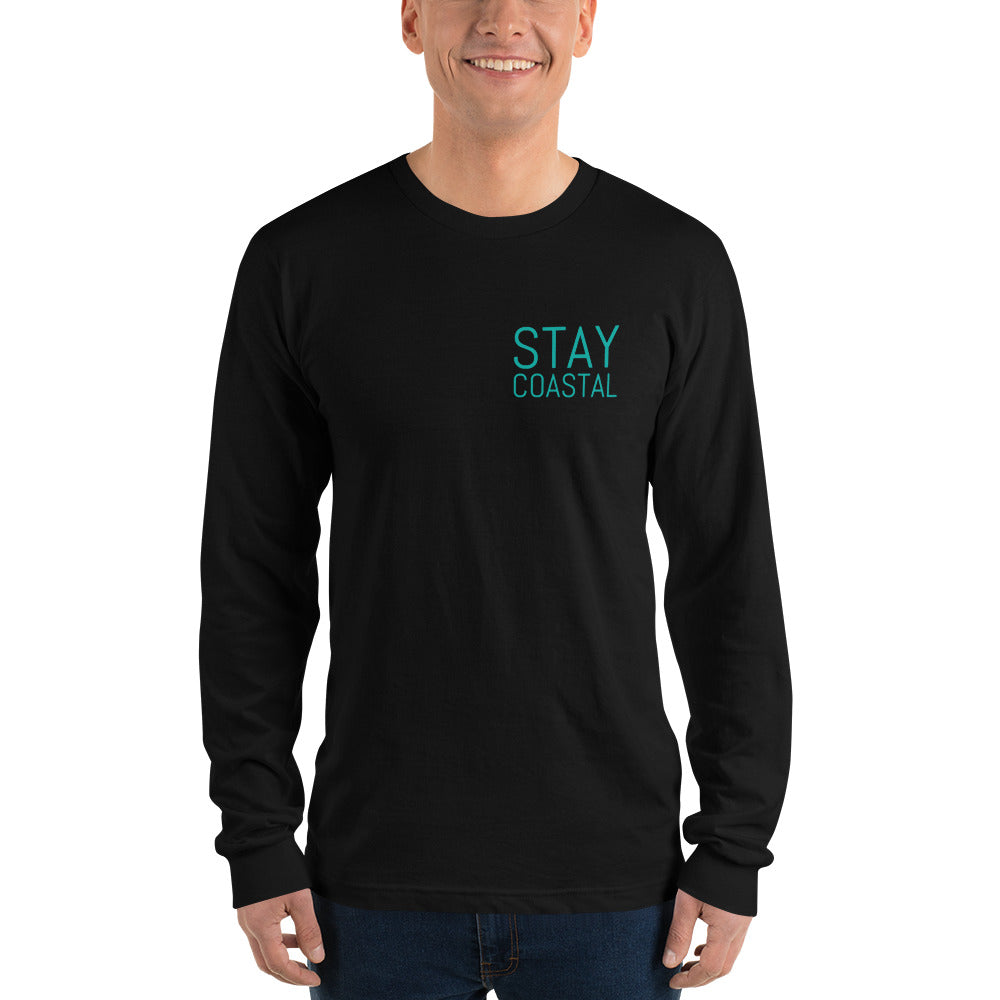 Men's Back to Basics Long Sleeve Tee - Stay Coastal