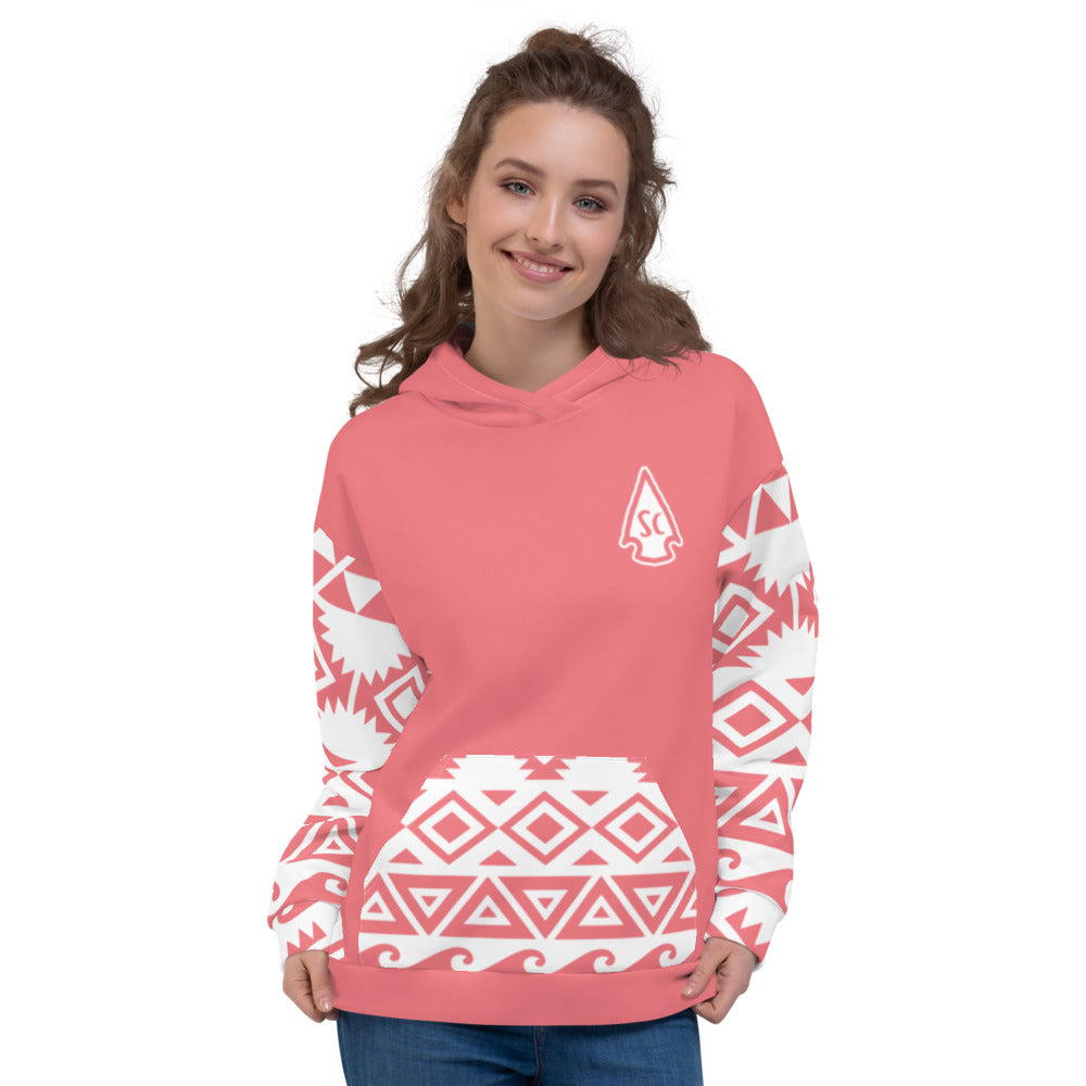 Women's Tribal Hoodie - Stay Coastal