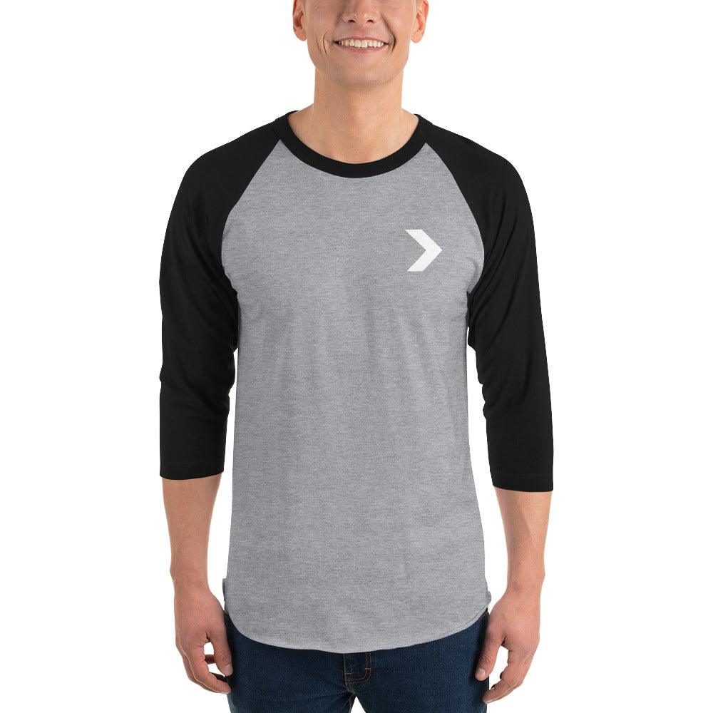 Men's Logo 3/4 Raglan - Stay Coastal