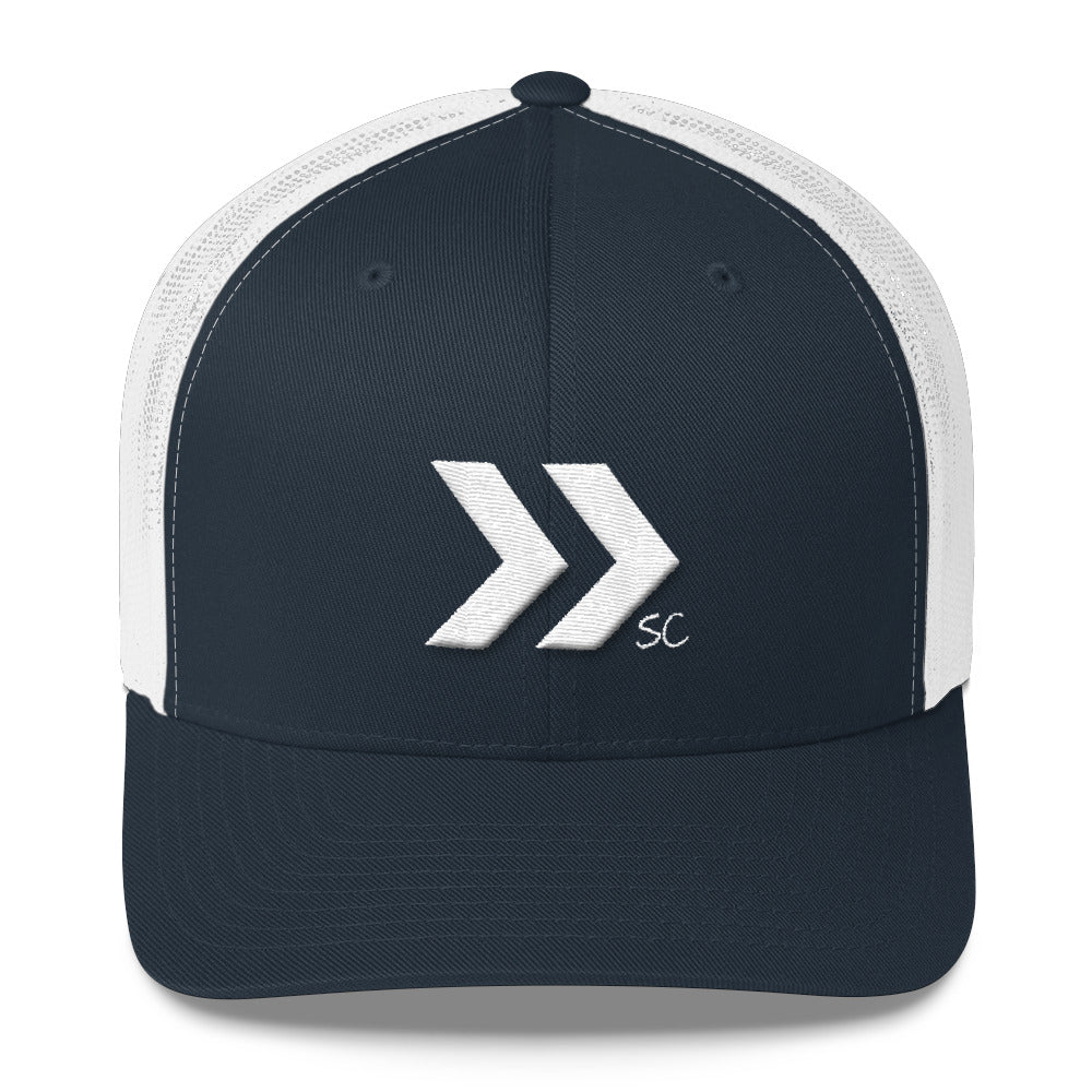 Double Arrow Trucker Hat