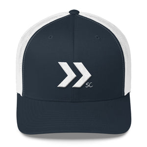 Double Arrow Trucker Hat - Stay Coastal