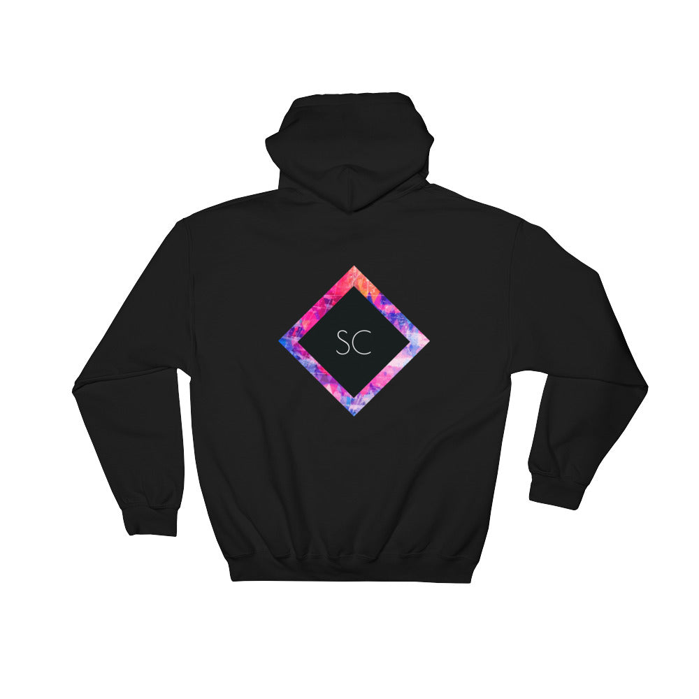 Women's Abstract  Hoodie - Stay Coastal